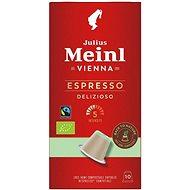 Julius Meinl Nespresso kompostovateľné kapsuly Espresso Bio & Fairtrade (10× 5,6 g/box)