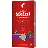 Julius Meinl Nespresso kompostovateľné kapsuly Lungo Fairtrade (10× 5,6 g/box)