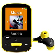 SanDisk Sansa Clip Sports 8 GB žltý - MP3 prehrávač