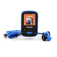 SanDisk Sansa Clip Sports 8GB modrý - MP3 prehrávač