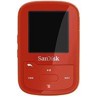 SanDisk Sansa Clip Sports Plus 16GB červený - FLAC prehrávač