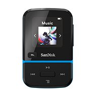 SanDisk MP3 Clip Sport Go2 16GB, Blue - MP3 Player