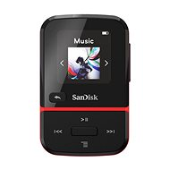 SanDisk MP3 Clip Sport Go2 32 GB, Red - MP3 Player