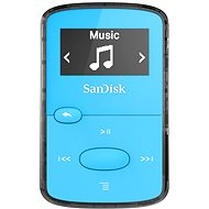 SanDisk Sansa Clip Jam 8 GB svetlo modrý - MP3 prehrávač