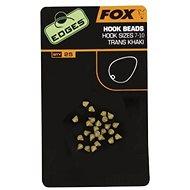 FOX Edges Hook Bead Veľkosť 7 – 10 Trans Khaki 25 ks - Zarážka