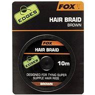FOX Hair Braid Brown 10m - Šnúra