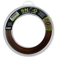 FOX Snag Leader Line 0,60 mm 45 lb 100 m Camo - Vlasec
