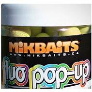 Mikbaits Plávajúci fluo Pop-Up Zrejúcí banán 18 mm 250 ml - Pop-up boilies
