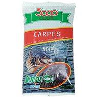 Sensas 3000 Club Carpes Noir (Kapor-čierna) 1 kg - Vnadiaca zmes