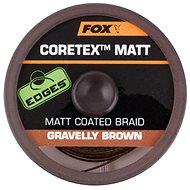 FOX Matt Coretex 25 lb 20 m Gravelly Brown - Šnúra