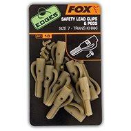FOX Edges Lead Clip + Pegs Veľkosť 7 Trans Khaki 10+10ks - Záveska
