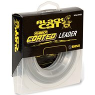 Black Cat Rubber Coated Leader 100 kg 20 m - Šnúra