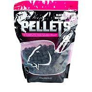 LK Baits Salt Black Hallibut Pellets 12 mm 1 kg - Pelety