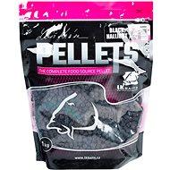 LK Baits Salt Black Hallibut Pellets 8 mm 1 kg - Pelety