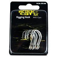 Black Cat Rigging Hook Veľkosť 4/0 6 ks - Háčik