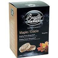 Bradley Smoker – Brikety Javor 120 kusov - Brikety
