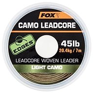 FOX Camo Leadcore 45 lb 7 m Light Camo - Olovená šnúra