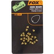 FOX Edges Hook Bead Veľkosť 2 – 6 Trans Khaki 25 ks - Zarážka