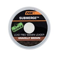 FOX Submerge Lead Free Leader 30lb 10m Gravelly Brown