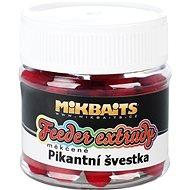 Mikbaits Mäkké feeder extrudy Pikantná slivka 50 ml