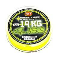 WFT Šnúra GLISS 19 kg 0,25 mm 300 m Žltá - Šnúra