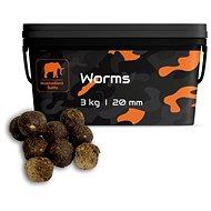 Mastodont Baits - Boilie Worms 20 mm 3 kg - Boilies