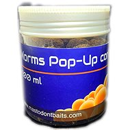 Mastodont Baits Pop-Up Korkový Worms 16 mm 200 ml - Plávajúce bollies