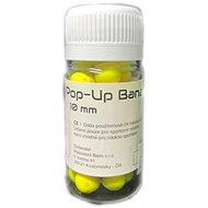 Mastodont Baits - Fluo Pop-Up Banana 10mm 30ml Žltá - Pop-up boilies