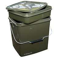 Trakker – Vedro Square Container with Tray 13 l Zelené - Vedro