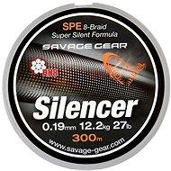 Savage Gear – HD8 Silencer Braid 0,28 mm 38 lbs 17 kg 120 m Zelená - Šnúra