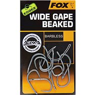 FOX Edges Armapoint Wide Gape Straight Veľkosť 6B Barbless 10 ks - Háčik