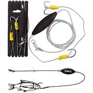 Black Cat Underwater Float Rig XXL Veľkosť 4/0 180 cm - Nadväzec