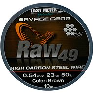 Savage Gear Raw49 0,54 mm 23 kg 50 lb 10 m Uncoated Brown - Lanko