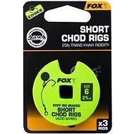 FOX Short Chod Rigs Barbed Veľkosť 6 25 lb 3 ks - Nadväzec