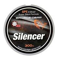 Savage Gear Šnúra HD8 Silencer Braid 0,19 mm 27 lbs 12,2 kg 300 m Zelená - Šnúra