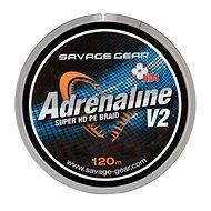 Savage Gear Šnúra HD4 Adrenaline V2 0,33 mm 60 lbs 27 kg 120 m Šedá - Šnúra