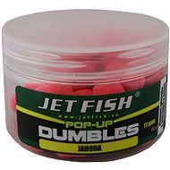 Jet Fish Pop-Up dumbles Signal Jahoda 11 mm 40 g - Plávajúce bollies