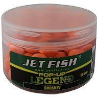 Jet Fish Pop-Up Legend Broskyňa 12 mm 40 g - Plávajúce boilies