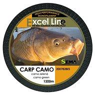 Sema Vlasec Carp Camo Green 0,30 mm 11,9 kg 1 200 m