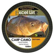 Sema Vlasec Carp Camo Brown 0,30 mm 11,9 kg 1 200 m