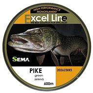 Sema Vlasec Pike 0,25 mm 8,4 kg 600 m - Vlasec