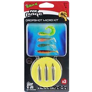 FOX Rage Dropshot Micro Kit 0,18 mm 5,67 lb 1 m 5 g Veľkosť 10 3 ks - Nadväzec