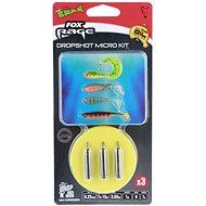 FOX Rage Dropshot Micro Kit 0,22 mm 7,79 lb 1 m 7 g Veľkosť 8 3 ks - Nadväzec