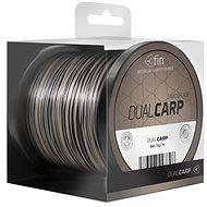 FIN Dual Carp 0,35 mm 20,4 lbs 600 m Hnedo-čierny - Vlasec