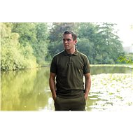 Tactic Carp Polo Shirt Green - Tričko