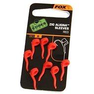 FOX Zig Aligna Sleeves Červené 8ks