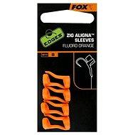 FOX Zig Aligna Sleeves Fluoro-oranžové 8ks
