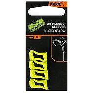 FOX Zig Aligna Sleeves Fluoro-žluté 8ks