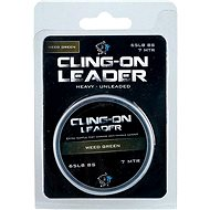 Nash Cling-On Leader 65 lb 7 m Weed Green