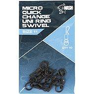 Nash Quick Change Uni Micro Ring Swivel 10 ks - Obratlík